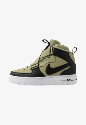 AIR FORCE 1 BG - High-top trainers - jade stone/team orange/juniper fog/black