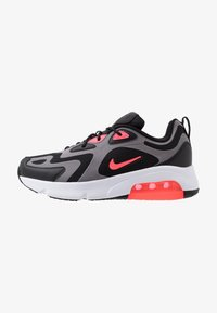 Nike Sportswear - NIKE AIR MAX 200  - Sneakers - black/hot punch/gunsmoke/white - 1