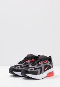 Nike Sportswear - NIKE AIR MAX 200  - Sneakers - black/hot punch/gunsmoke/white - 3