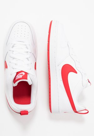 COURT BOROUGH - Baskets basses - white/university red