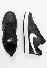 Nike Sportswear - COURT BOROUGH - Trainers - black/white - 0