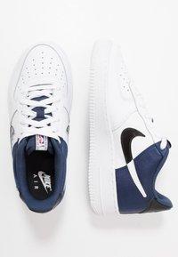 Nike Sportswear - AIR FORCE 1  - Matalavartiset tennarit - midnight navy/white/black - 0