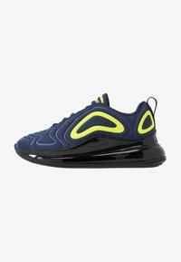 Nike Sportswear - AIR MAX 720 - Trainers - midnight navy/black/lemon - 1