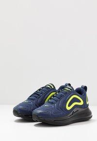 Nike Sportswear - AIR MAX 720 - Trainers - midnight navy/black/lemon - 3