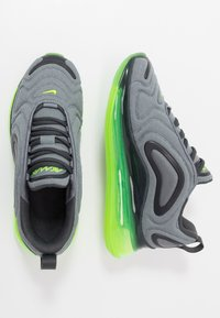 Nike Sportswear - AIR MAX 720 - Sneakers basse - anthracite/electric green/smoke grey - 0