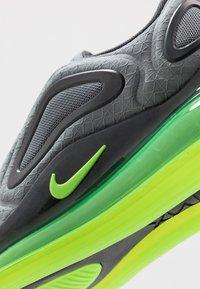 Nike Sportswear - AIR MAX 720 - Sneakers basse - anthracite/electric green/smoke grey - 2
