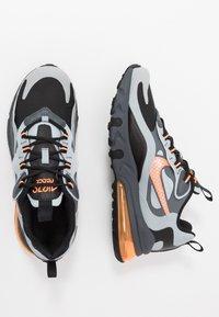 Nike Sportswear - AIR MAX 270 REACT WINTER - Sneakers basse - black/total orange/wolf grey/dark grey - 0