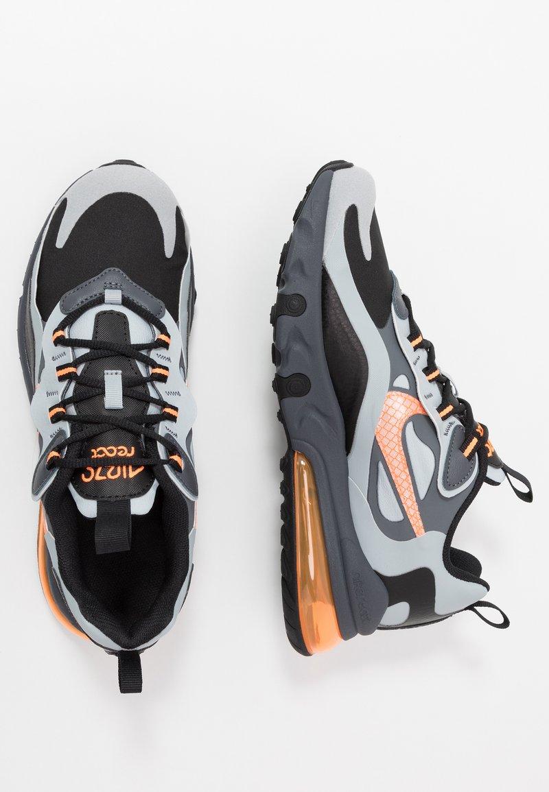 Nike Sportswear - AIR MAX 270 REACT WINTER - Sneakers basse - black/total orange/wolf grey/dark grey