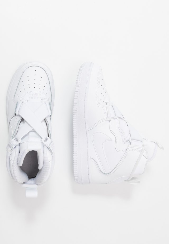 FORCE 1 HIGHNESS - Sneakers hoog - white