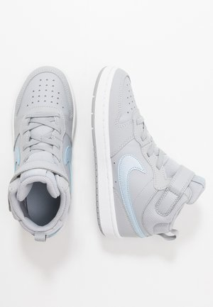 COURT BOROUGH MID 2  - High-top trainers - wolf grey/celestine blue/white