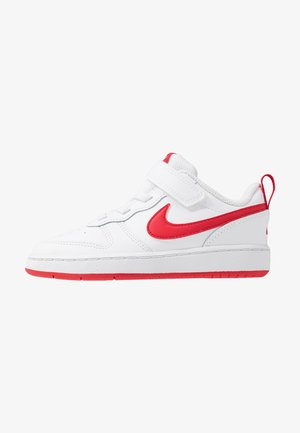COURT BOROUGH 2 - Baskets basses - white/university red