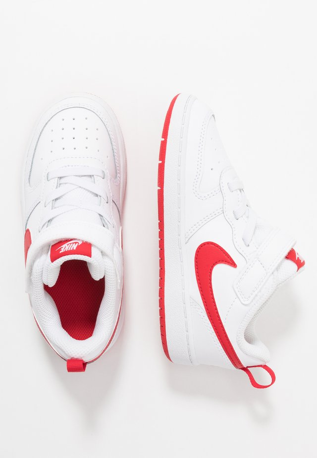 COURT BOROUGH 2 - Sneaker low - white/university red