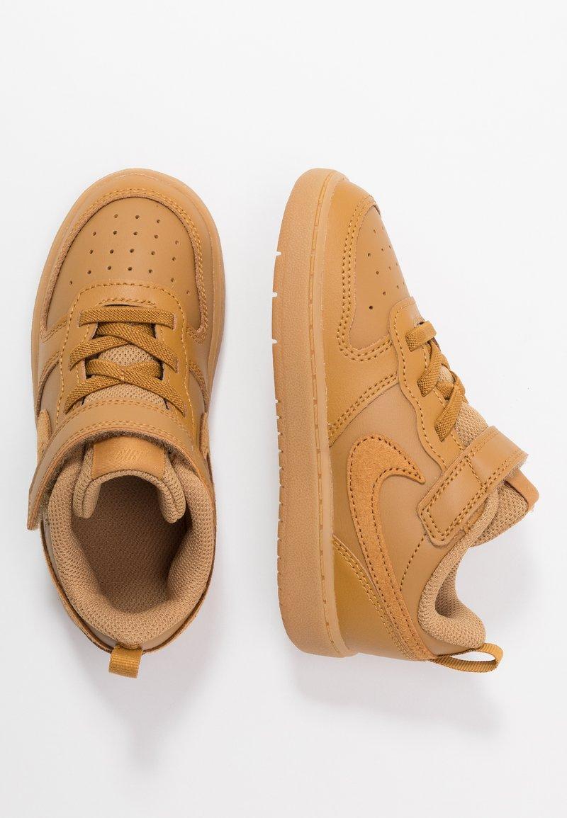 Nike Sportswear - COURT BOROUGH 2 - Sneakersy niskie - wheat