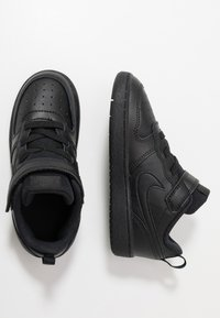 Nike Sportswear - COURT BOROUGH 2 - Matalavartiset tennarit - black - 0
