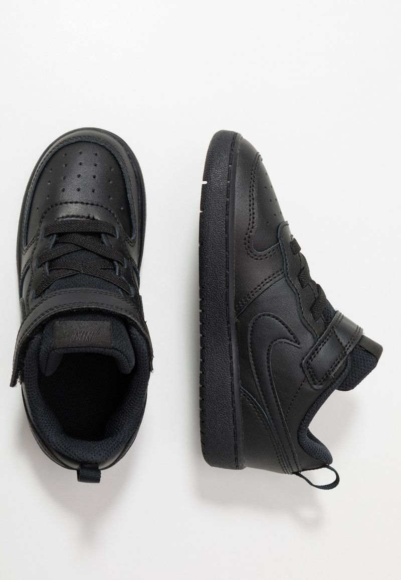 Nike Sportswear - COURT BOROUGH 2 - Matalavartiset tennarit - black