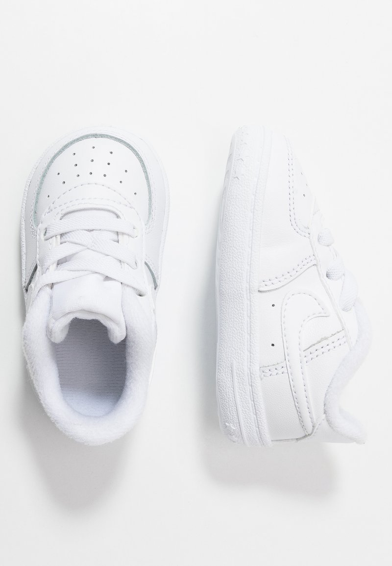 Nike Sportswear - FORCE 1 CRIB - Baby shoes - white
