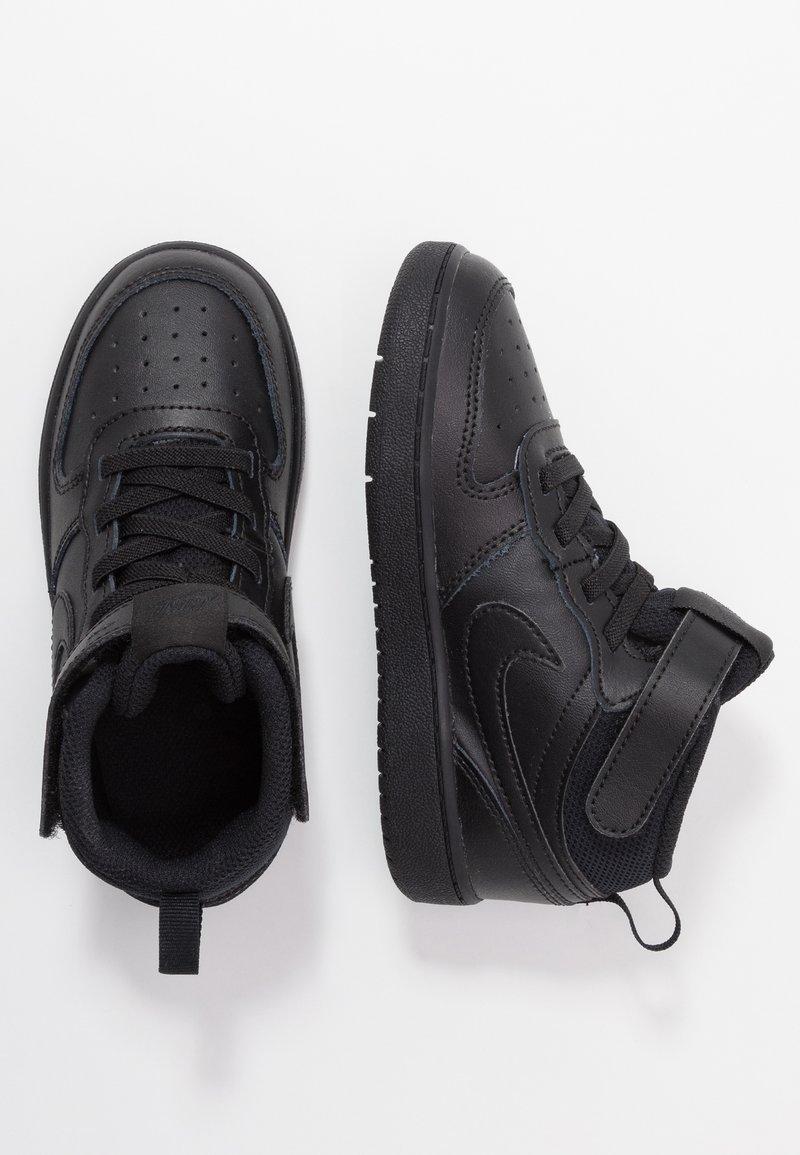 Nike Sportswear - COURT BOROUGH MID  - Obuwie do nauki chodzenia - black