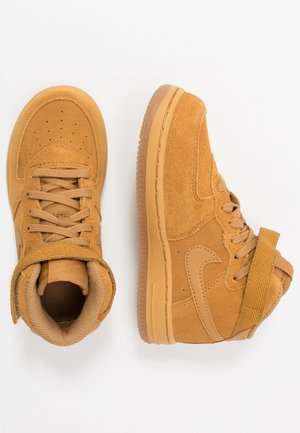 FORCE 1 MID LV8 3 - Vysoké tenisky - wheat/light brown