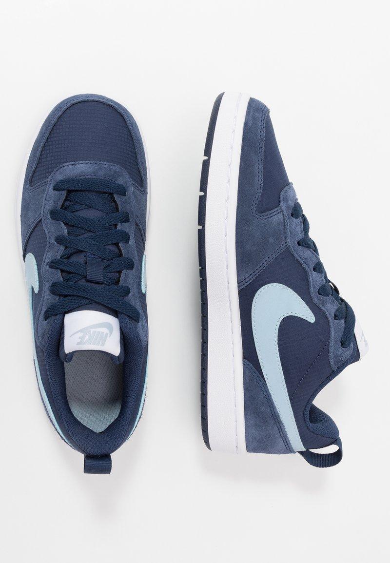 Nike Sportswear - COURT BOROUGH 2  - Trainers - midnight navy/light armory blue/white