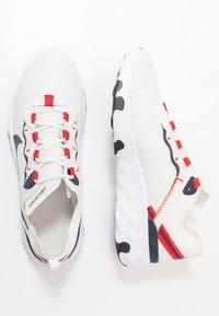 Nike Sportswear - RENEW 55 - Trainers - summit white/obsidian/university red/platinum tint - 0