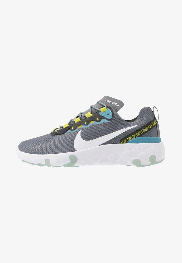 RENEW 55 - Sneaker low - smoke grey/white/cerulean/bright cactus/dark smoke grey