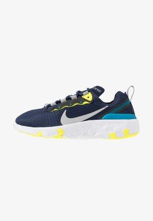 RENEW 55 - Sneakers basse - midnight navy/light smoke grey/lemon/laser blue