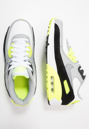 AIR MAX 90  - Baskets basses - white/particle grey/light smoke grey/volt