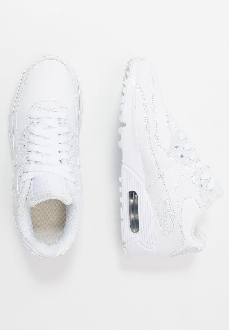 Nike Sportswear - AIR MAX 90  - Sneakers - white/metallic silver