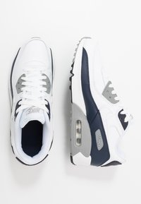 Nike Sportswear - AIR MAX 90  - Sneakers laag - white/particle grey/obsidian - 0