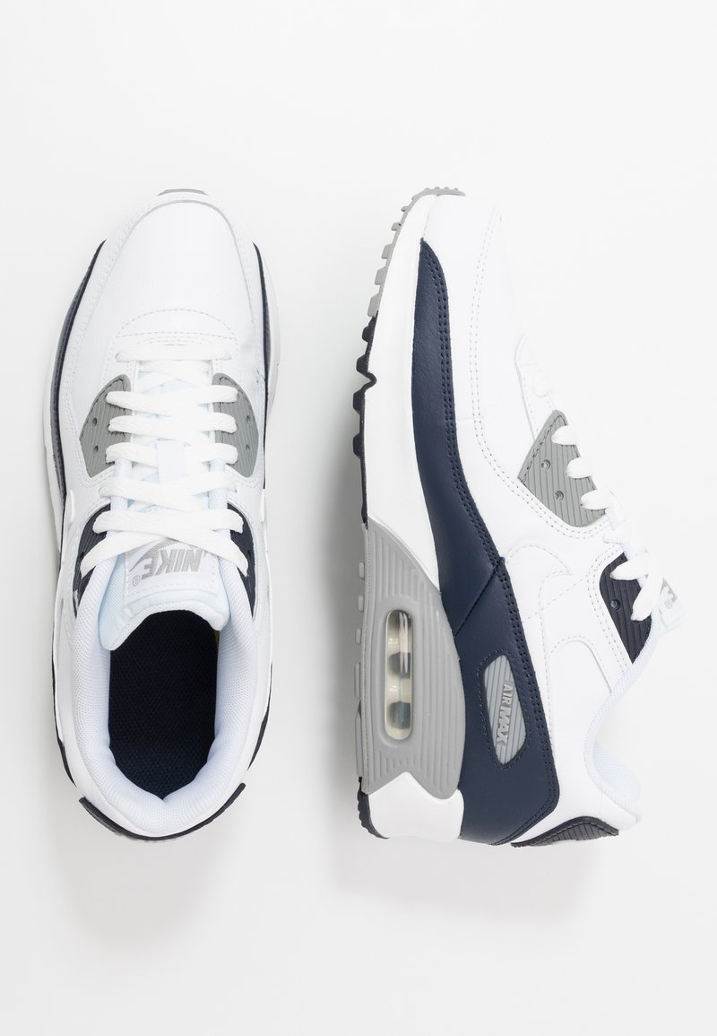 Nike Sportswear - AIR MAX 90  - Sneakers laag - white/particle grey/obsidian