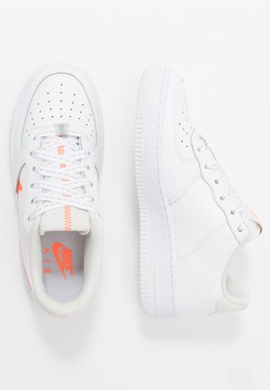AIR FORCE 1 LV8 3  - Sneakers - white/total orange/summit white/black