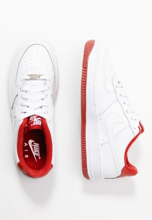 AIR FORCE 1 - Baskets basses - white/team red