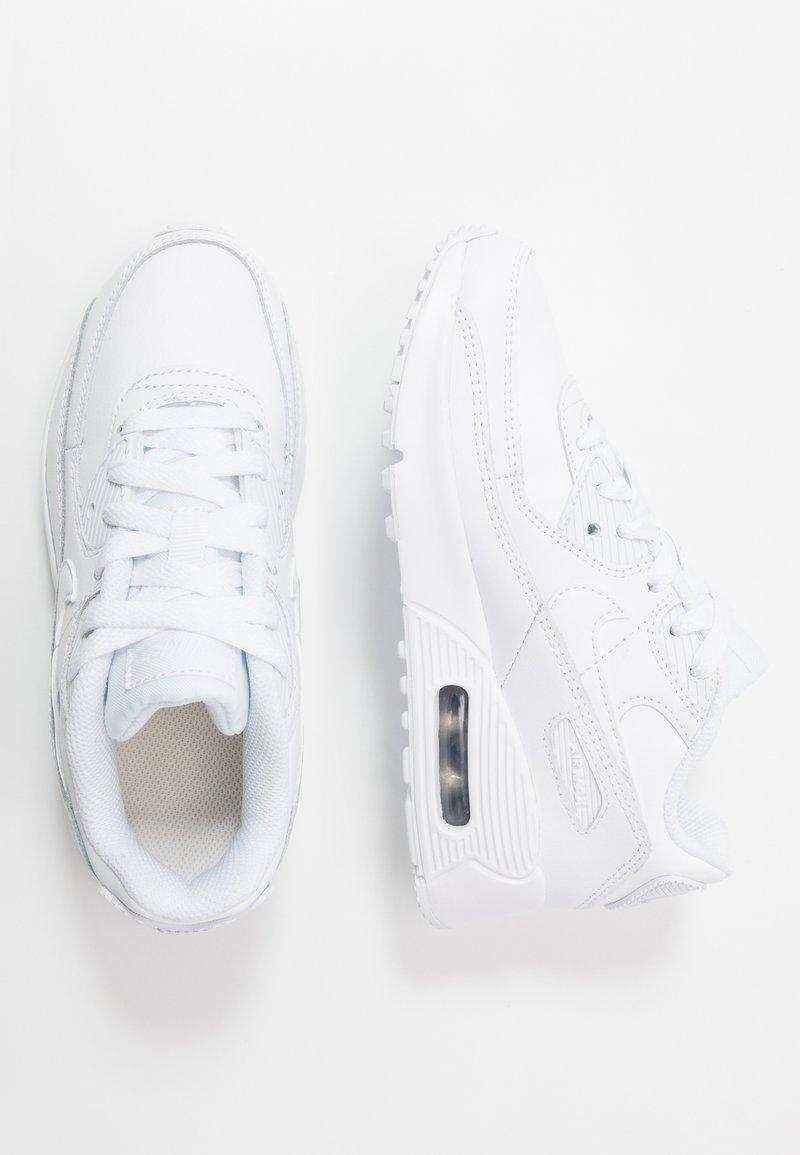 Nike Sportswear - AIR MAX 90  - Sneakersy niskie - white/metallic silver