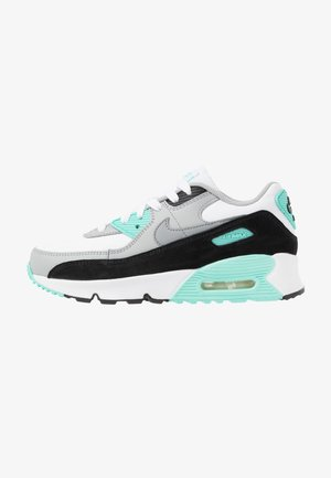 AIR MAX 90  - Sneakers laag - white/particle grey/light smoke grey/hyper turquoise/black