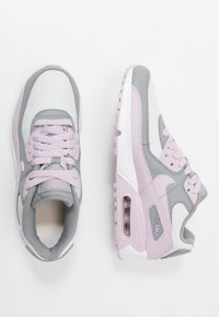 Nike Sportswear - AIR MAX 90 LTR - Sneakers laag - particle grey/iced lilac/photon dust/white - 0