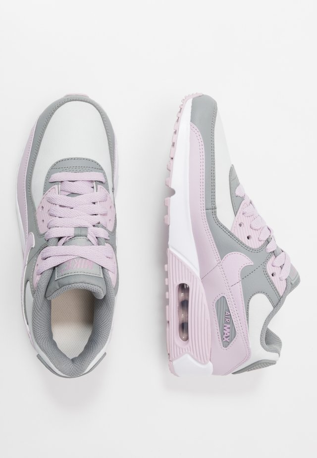 AIR MAX 90 LTR - Sneakers - particle grey/iced lilac/photon dust/white