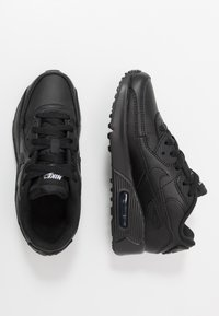Nike Sportswear - AIR MAX 90 LTR - Trainers - black/white - 0