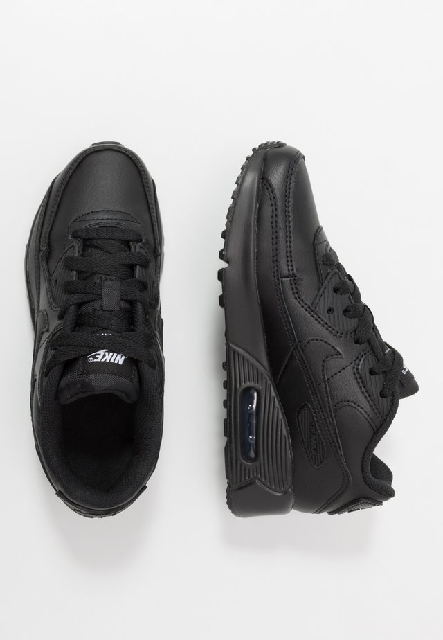 AIR MAX 90 LTR - Sneakers laag - black/white