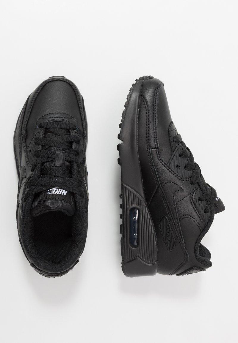 Nike Sportswear - AIR MAX 90 LTR - Trainers - black/white