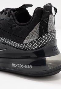 Nike Sportswear - MX-720-818 BG - Sneakers basse - black/metallic silver/anthracite - 2