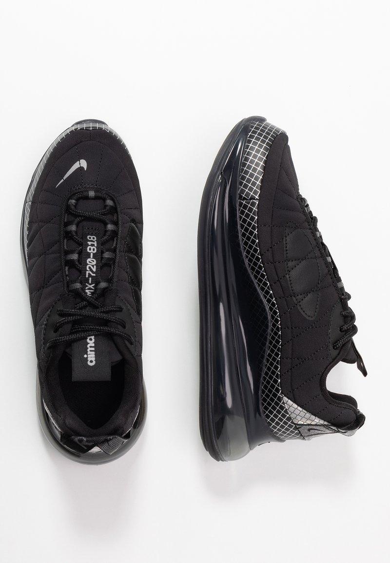 Nike Sportswear - MX-720-818 BG - Sneakers basse - black/metallic silver/anthracite