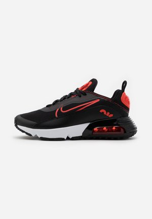 AIR MAX 2090 UNISEX - Sneakers basse - black/chile red