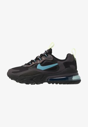 AIR MAX 270 REACT - Trainers - black/cerulean/thunder grey/barely volt