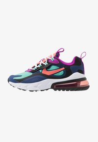 Nike Sportswear - AIR MAX 270 REACT - Sneakers laag - blue void/magic ember/black/kinetic green - 1