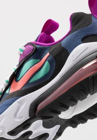 Nike Sportswear - AIR MAX 270 REACT - Sneakers laag - blue void/magic ember/black/kinetic green - 2