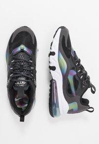 Nike Sportswear - AIR MAX 270 REACT 20 - Tenisky - dark smoke grey/multicolor/black/white - 0