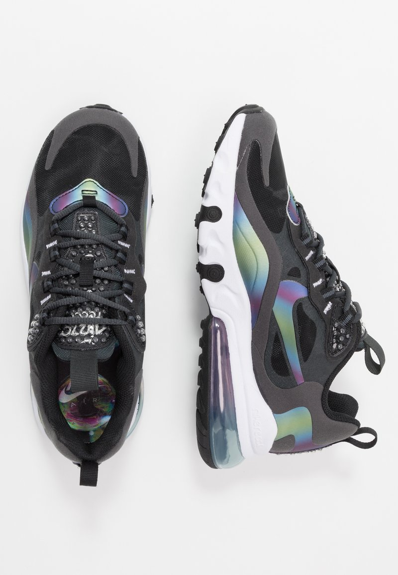 Nike Sportswear - AIR MAX 270 REACT 20 - Tenisky - dark smoke grey/multicolor/black/white