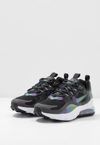 Nike Sportswear - AIR MAX 270 REACT 20 - Tenisky - dark smoke grey/multicolor/black/white - 3