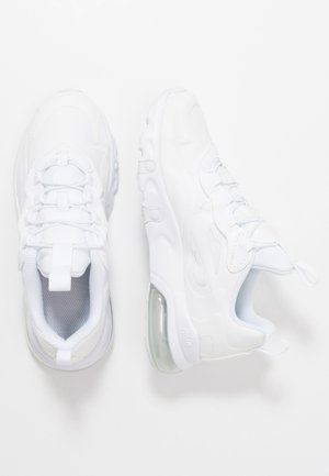AIR MAX 270  - Matalavartiset tennarit - white/metallic silver