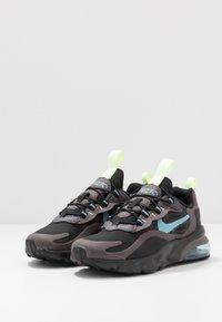 Nike Sportswear - AIR MAX 270  - Sneakers basse - black/cerulean/thunder grey/barely volt - 3